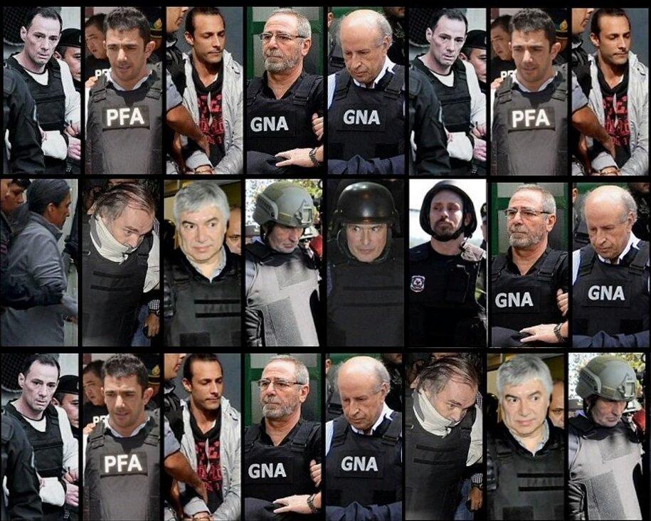 Qui nes son los kirchneristas detenidos condenados y for Noticias famosos argentina